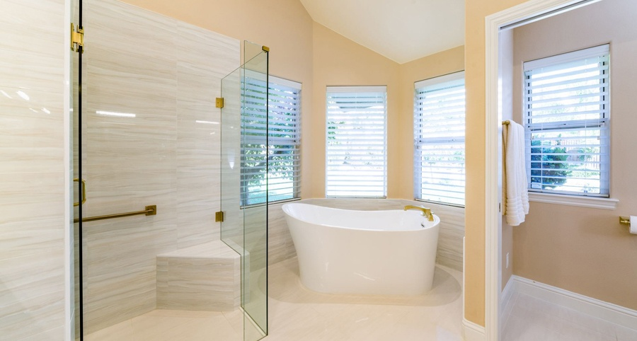 Fine How Much Does A Bathroom Remodel Cost In Fresno California Beutiful Home Inspiration Semekurdistantinfo